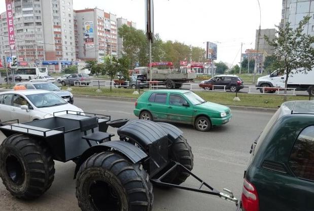 Мотовездеход ЗИС-5