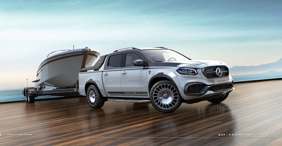Пикап Mercedes-Benz X-Class Yachting Edition