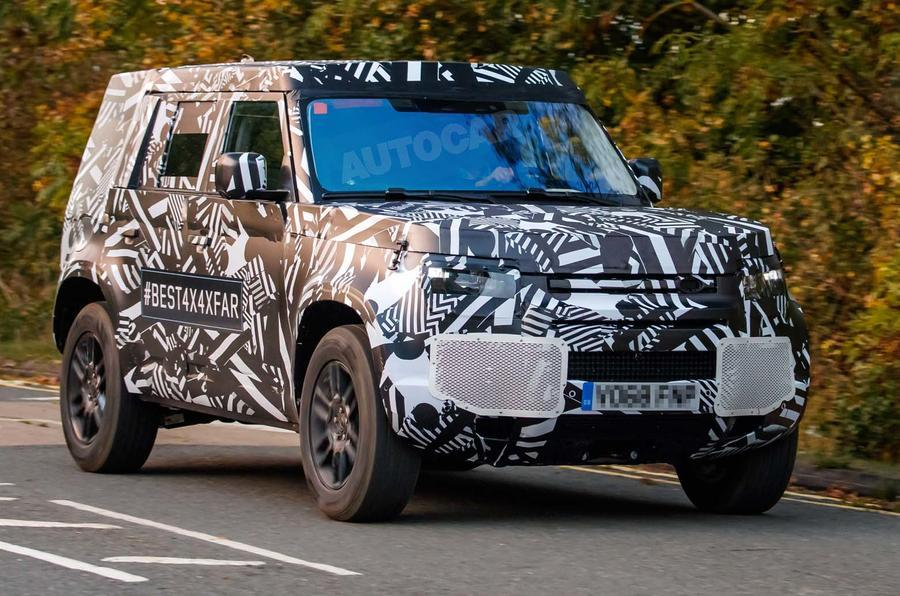 Прототип Land Rover Defender 2020