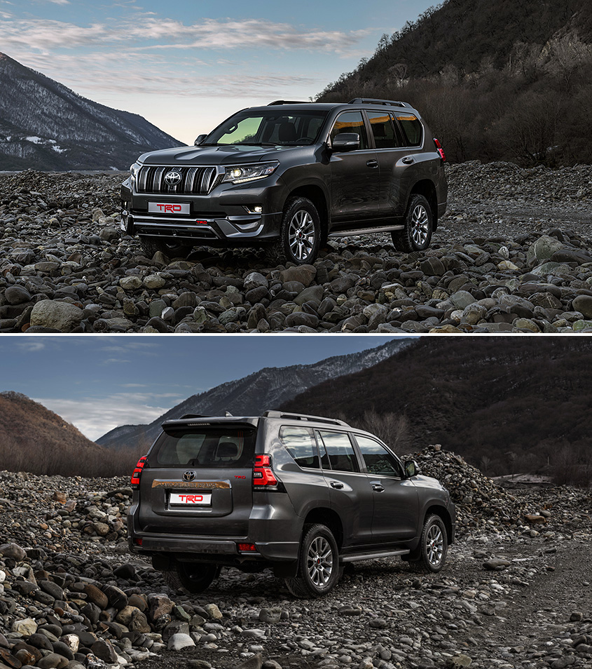 Спецсерия Land Cruiser Prado от TRD