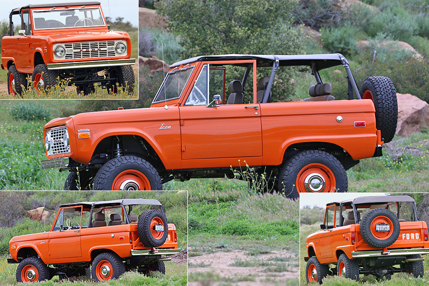 1966 Icon Old School Bronco