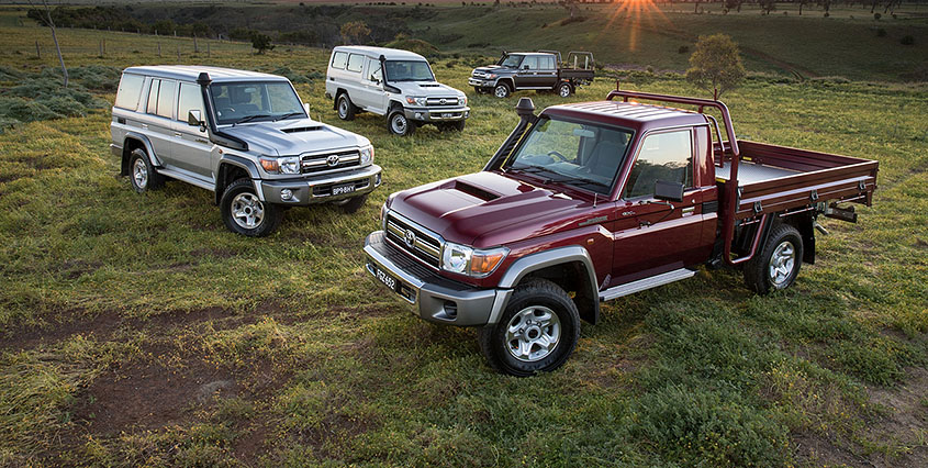 Toyota Land Cruiser series 7