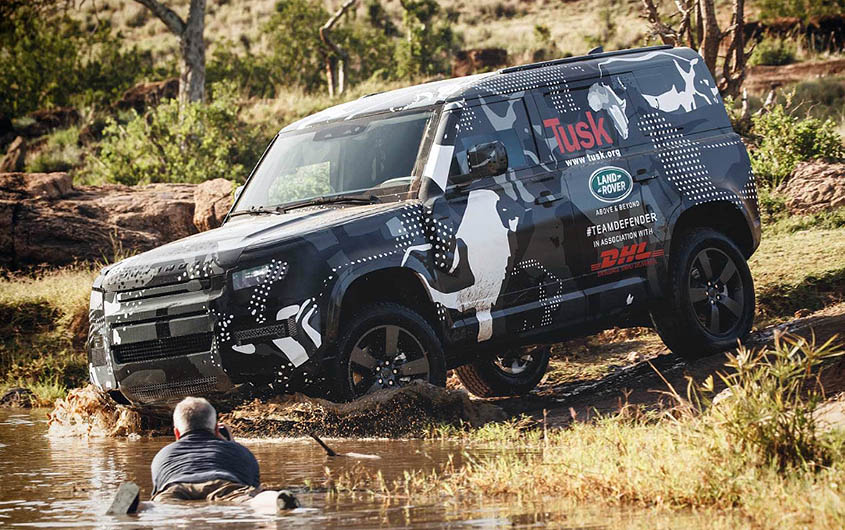 Африканские испытания нового Land Rover Defender