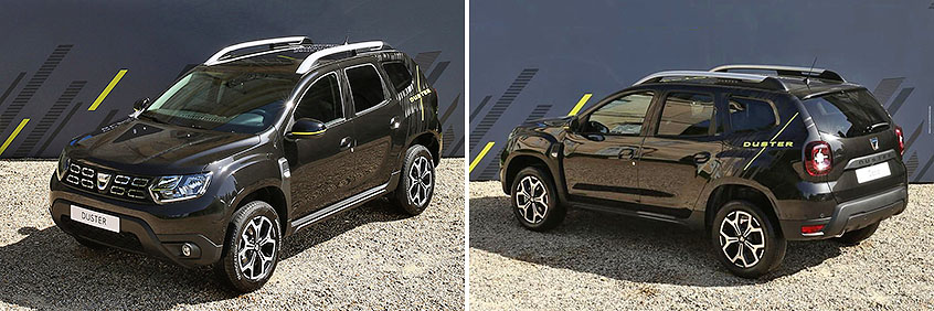 Renault Duster Black Collector