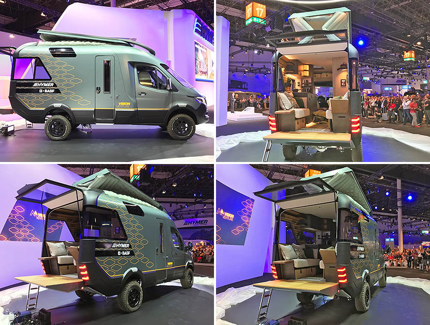 Новый Hymer VAN на базе Mercedes-Benz Sprinter. Caravan Salon 2019