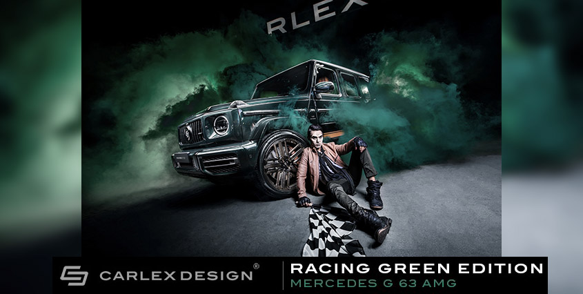Mercedes-AMG G 63 Racing Green Edition от Carlex Design
