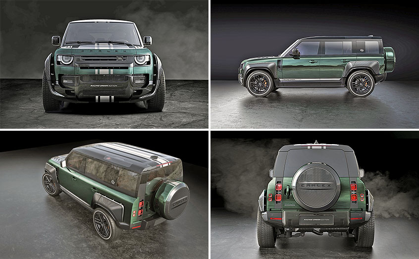 Land Rover Defender Racing Green Edition от Carlex Design