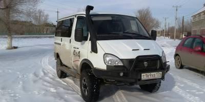 "Тюнинг Соболя 4Х4 ""Monster Truck"""