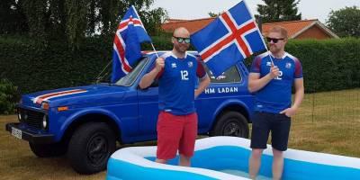 Исландские болельщики запустили блог о LADA 4x4