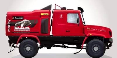 МАЗ готовит к «Дакару» капотный грузовик