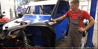 Сергей Карякин показал устройство своих гоночных Maverick x3