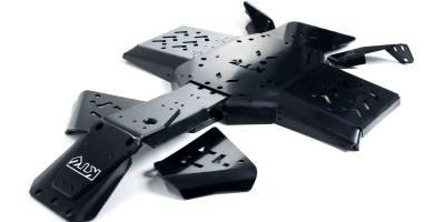 Полиэтиленовые защиты для квадроциклов оказались лучше металлических