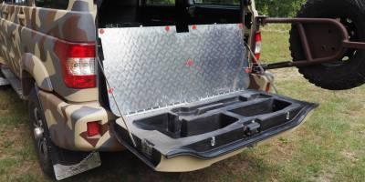 УАЗ Патриоту сделали распашной багажник