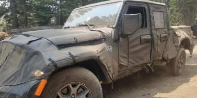 Jeep Scrambler офф-роуда не выдержал