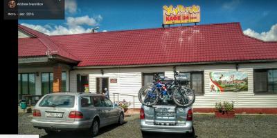 Новая кемпстоянка на трассе Москва - Минск