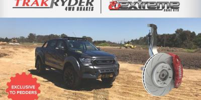 Экстремальные тормоза для Ford Ranger и Mazda BT50