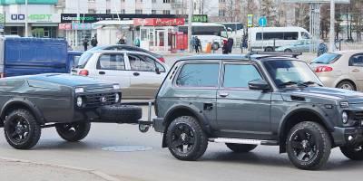 Off-road прицеп LADA 4X4