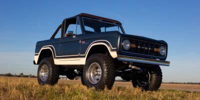 Ford возобновляет выпуск Bronco первого поколения
