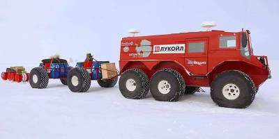 Российские вездеходы «Емеля» покорили Антарктиду