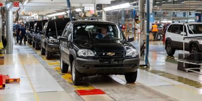 Обновленная Chevrolet NIVA встает на конвейер