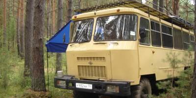 В Омске продают внедорожный автодом-автобус