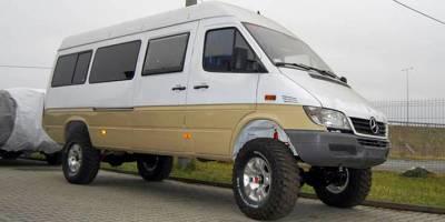 Редкий зверь: офф-роуд Sprinter maxi 4x4 camper