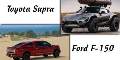 Ford F-150 в обличье «Мустанга» и «внедорожная» Toyota Supra