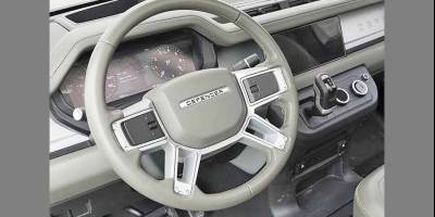 Интерьер нового Land Rover Defender: утечка или фейк?