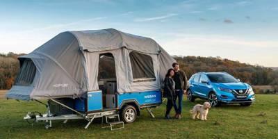 Nissan Roam: дом-прицеп, которому не нужна энергия извне