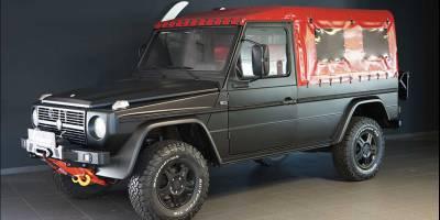 Австрийская копия Mercedes-Benz G-Class заиграла в руках реставраторов