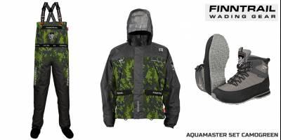 Finntrail предлагает рыбакам и джиперам новый комплект забродной одежды