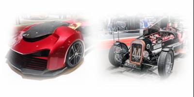 На автосалоне в Женеве показали странные квадроциклы