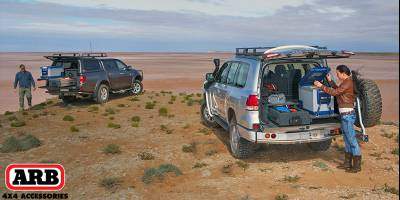 ARB представляет систему выдвижных полов для багажника со среднеразмерными ящиками