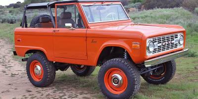 Осовремененный Ford Bronco 1966 года выставлен на аукцион за 235 тысяч долларов