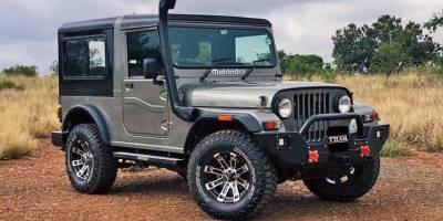 Mahindra начала продажи индийской копии внедорожника Jeep CJ7 в ЮАР