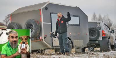 Блогер Руслан Внедорожный проводит мастер-классы по постройке автодома