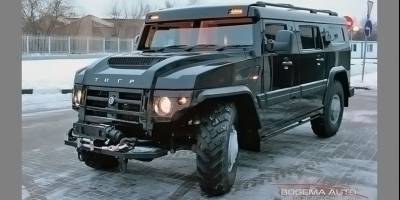 Армейский броневик «Тигр» конвертировали в шикарный внедорожник для VIP-персон