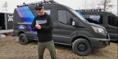 Для Кена Блока и его команды построили раллийный Ford Transit