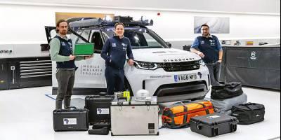 Специальный Land Rover Discovery поедет в Африку за малярией