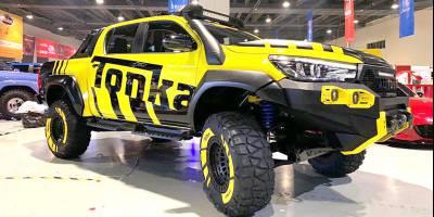Тюнинг в квадрате: 2019 Tonka Toyota Hilux от Autobot Autoworks Off-Road