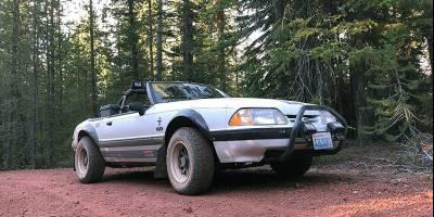 Baja Mustang, тюнингованный для бездорожья, продаётся в Сиэтле