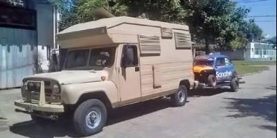 В Аргентине обнаружен кемпер на базе УАЗ-469