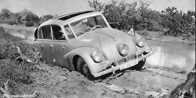 На обычной «Татре» по африканскому бездорожью 50 лет назад