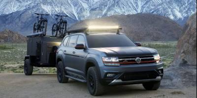 Кроссовер Volkswagen Atlas подготовили к экстремальным выездам на природу