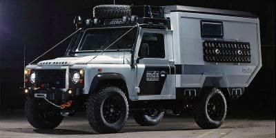 Matzker Defender MDX Expeditionsmobil: автодом, о котором нужно мечтать