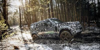 Land Rover Defender 2020 увидим в сентябре в Германии