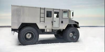 Арктический 6-колесный вездеход «Бурлак» получил компактную версию 4х4