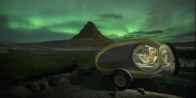 Аскетичный мини-кемпер предложат напрокат туристам в Исландии