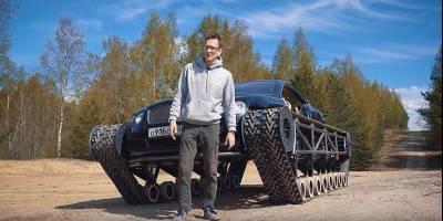 В Великобритании недоумевают, зачем русские превратили Bentley в танк