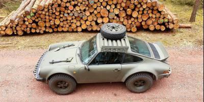 Внедорожную версию Porsche 911 показали немецкие тюнеры